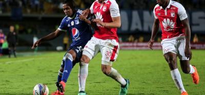 Santa Fe y Millonarios protagonizarán un duelo habitual en el fútbol colombiano pero inédito en la Sudamericana, donde nunca se han enfrentado y ahora lo harán en octavos de final.