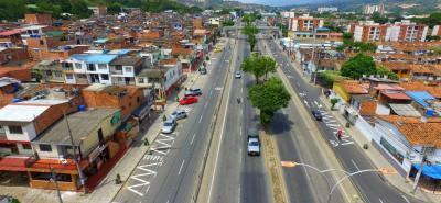 Las paralelas del barrio Rincón de Girón son importantes para descongestionar el trafico en la autopista que conecta al anillo vial y Chimitá.