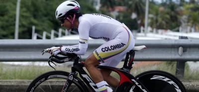 La ciclista santandereana hace parte de la selección Colombia de ciclismo que competirá en el Mundial de Ruta.