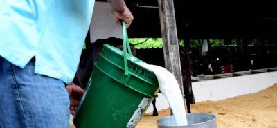 El 85% de la producción de leche en el país está en manos de campesinos que no tienen más de 50 vacas.