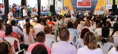 La comunidad, especialmente los presidentes de Junta de Acción Comunal, tuvieron la oportunidad de expresar sus inquietudes para que Mantilla Rueda les diera respuesta inmediata.