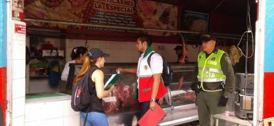 La Secretaría de Salud de la mano con la Policía y el despacho del Interior trabajan en el control de los locales de alimentos.