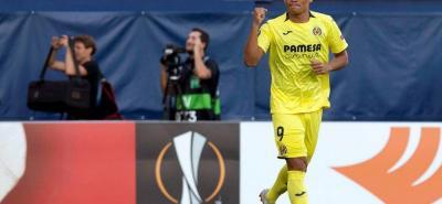 Carlos Bacca anotó en el empate 2-2 de su equipo, Villarreal, ante el Rangers de Escocia, en la Liga de Europa.
