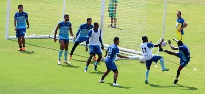 Atlético Bucaramanga reforzó sus trabajos defensivos durante la semana, de cara al enfrentamiento contra Jaguares.