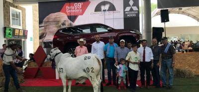 Las ganaderías de la región se han destacado en la Feria Ganadera de Buacaramanga. La campeona ternera fue La Giralda 402/8, un ejemplar, muy caracterizado de la raza brahman.