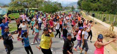 En la vía Guatiguará - Postobón se ubicará la oferta deportiva del Inder Piedecuesta.