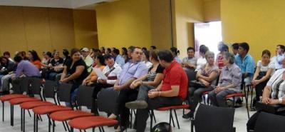 Durante los días 26 y 27 de septiembre recibirán denuncias de manera reservada, en el 4 piso de la sede de Fiscalías, y el 28 se recibirán las denuncias públicas en Cajasan Guarigua.