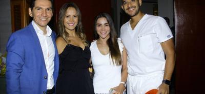 York Ardila, Adriana Gómez, Nana Arenales y Javier Jiménez.