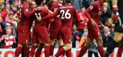 Liverpool se afianzó en la cima de la Liga de Inglaterra, al doblegar 3-0 al Southampton.