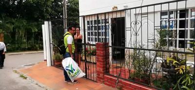 En total fueron visitadas 127 viviendas en el barrio Niza, con igual número de personas capacitadas.