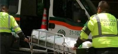 El cadáver del motociclista fallecido fue trasladado a la morgue de Medicina Legal, seccional Bucaramanga. Ayer, su cuerpo fue reclamado por sus familiares.