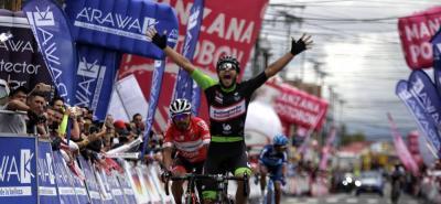 Carlos Julián Quintero el más rápido en la llegada a Funza