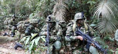 Ejército Nacional incauta material de guerra tras enfrentamiento con el Clan del Golfo