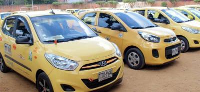 El contrato busca adquirir e instalar equipos de comunicación para la creación de la red de apoyo con botón de pánico en 1.100 taxis del área metropolitana de Bucaramanga.