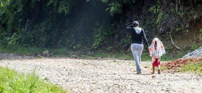 Por combates se registra desplazamiento masivo en Ituango, Antioquia