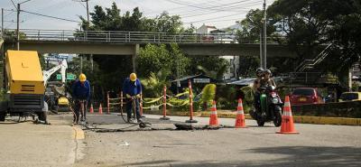 El proyecto contempla intervenir 19 ejes viales de Bucaramanga y 439 metros cuadrados de malla asfáltica.