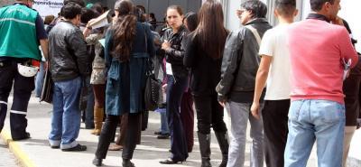 Según expertos, la ciudad puede tener desempleo oculto, es decir, personas que realizan actividades laborales informales.