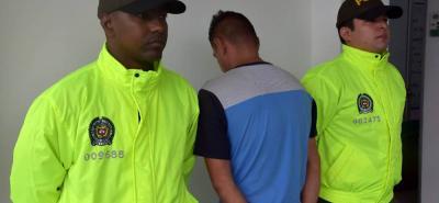 El capturado es un hombre de 30 años de edad, conocido como 'Isaac'.