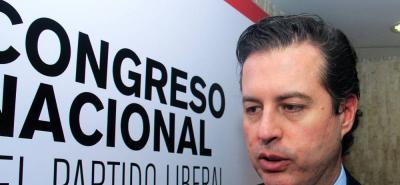 Exsenador Juan Manuel Galán Pachón.