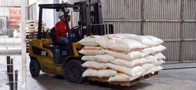 Por sobreoferta, se han almacenado 224.000 toneladas de arroz