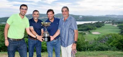Este es el grupo de jugadores, de Primera y Segunda categoría, que representó al Club Campestre y que se hizo al título del Nacional Interclubes de golf que se disputó el fin de semana en el club Lagos de Caujaral en Barranquilla.