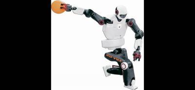 El LBR Iiwa es el primer robot fabricado en serie con capacidad sensitiva y está preparado para la colaboración entre personas y robots.