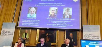 Después de 55 años,  una mujer gana el Nobel de Física