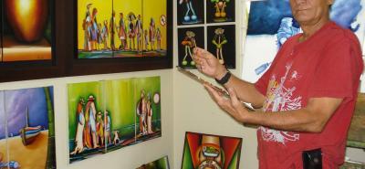 El maestro Fernando Rodríguez es conocido por sus obras como la Malagueta entre otras, que han sido expuestas en diferentes países.