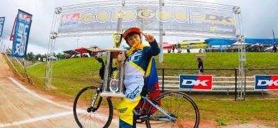'Teo' Rivera Medina llegará dentro de muy pocos días al país bañado en oro, tras su reciente participación en una competencia internacional.