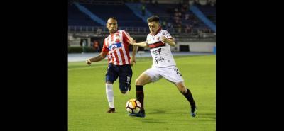 Junior de Barranquilla, con ventaja de 1-0, enfrenta hoy a Colón de Argentina, en el partido de vuelta de los octavos de final de la Copa Sudamericana.