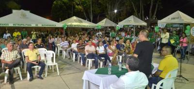 La delegación de la Alcaldía de Girón desarrolló la segunda jornada de Girón 2040 en la zona rural.