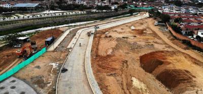 Según el reporte de las autoridades, en Girón se han construido más de 10 kilómetros de andenes.