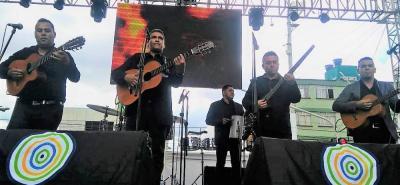 Con su destacada actuación en el XXII Festival de Música Campesina, 'Ayer y Hoy Parrandero' desplazó al segundo lugar al grupo Patrulla 7.