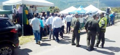 El pasado 2 de agosto, con presencia de autoridades nacionales, regionales y municipales, se firmó el acta de inicio para la construcción de la variante de San Gil.