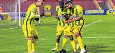 Atlético Bucaramanga superó anoche 1-0 a Pasto en calidad de visitante y con 23 puntos alcanzó la cuarta casilla de la Liga Águila. Con el gol de Michael Rangel, el elenco santandereano consiguió la cuarta victoria consecutiva en la competencia.
