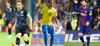 Modric, Neymar y Messi integran la lista de 30 candidatos al Balón de Oro