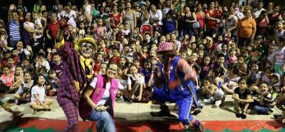 La gestora social Yulia Rodríguez también hace parte de las actividades para el 'Mes de los Niños'.