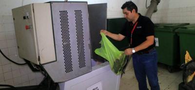 La instalación del Tellus Compost consiste en una unidad de aprovechamiento con capacidad de procesamiento de cinco toneladas por día.