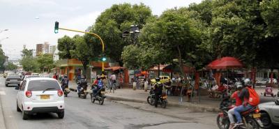 La violenta riña, que dejó un muerto y un herido, se registró en el parque Las Palomas del municipio de Girón.