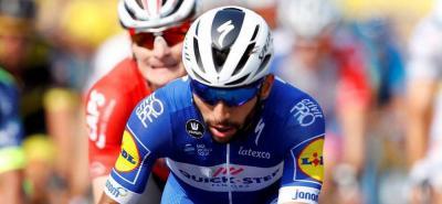 Así fue la caída de Fernando Gaviria en el Tour de Turquía