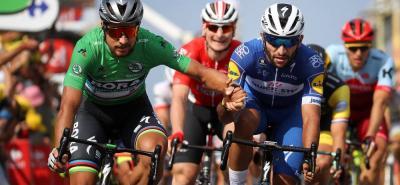 El joven velocista colombiano Fernando Gaviria Rendón tuvo que poner fin a su temporada en 2018, tras una fuerte caída en el Tour de Turquía.