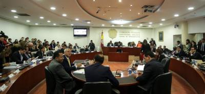 La Comisión Primera del Senado empezará a discutir hoy la Reforma a la Justicia.