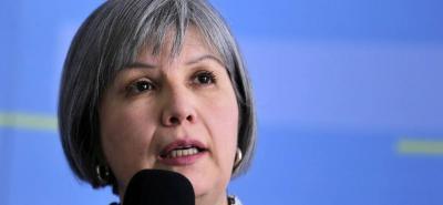Presidenta de la Jurisdicción Especial para la Paz, magistrada Patricia Linares.
