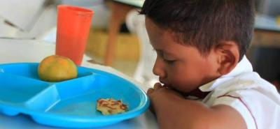 El PAE departamental comenzó a operar el pasado 2 de abril, con el suministro de 65.617 raciones alimentarias de las 135 mil contratadas.