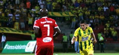 Johan Caballero, que a finales de 2017 disputó el Torneo de la Cancha Marte, en 2018 es pieza clave de un Atlético Bucaramanga que pelea en los primeros lugares de la Liga Águila.