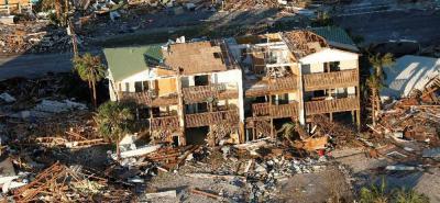 Huracán Michael deja un saldo creciente de muertos y daños materiales