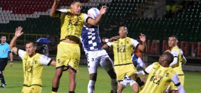 Alianza Petrolera intentará cortar la sequía de triunfos en la Liga Águila II  2018 cuando enfrente hoy a Chicó, en un juego directo en la lucha por conservar la categoría.