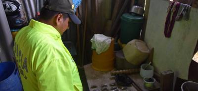 En el procedimiento fueron incautadas 400 dosis de marihuana y 30 más de cocaína, las cuales estaban listas para surtir el mercado negro de Puerto Parra, Santander.