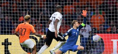 Holanda, como el ave fénix, parece renacer de entre sus cenizas, y haciendo un gran partido como local dominó y goleó a Alemania por 3-0 en la Liga de Naciones, nuevo torneo de selecciones promovido por la Uefa.