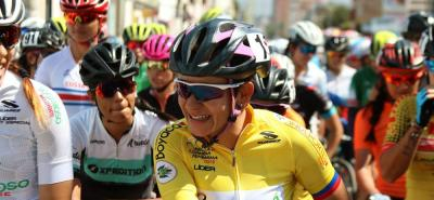 Por tercera vez consecutiva, santandereana Cristina Sanabria ganó la vuelta a Colombia